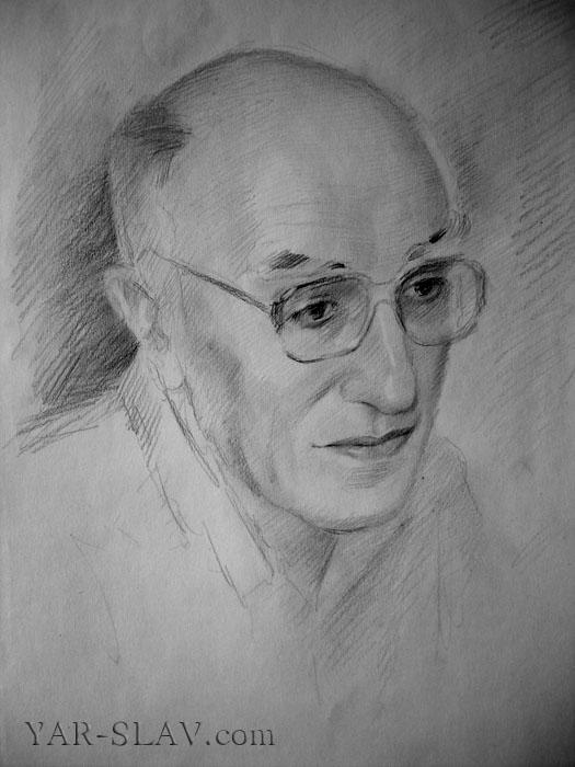 Как сделать из портрет карандашом вшопе