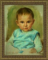Портрет детский блиц портрет