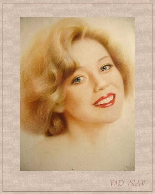 Заказать художественный портрет на холсте по фотографии